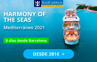 Harmony of the Seas desde Barcelona. SoloCruceros.com