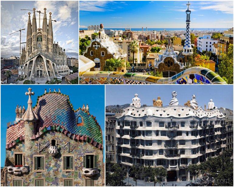 Monumentos Gaudí - 5 lugares Barcelona 2015